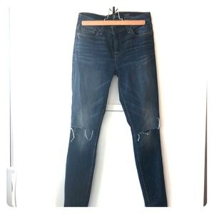 7 for all man kind ankle gwenevere sz 26